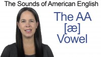 English: How to Pronounce AA [æ] vowel