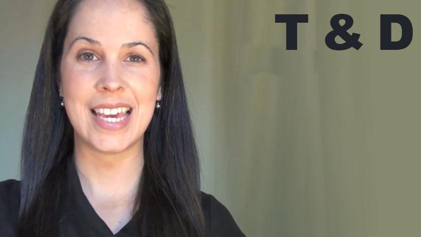 How To Pronounce T T And D D Consonants Rachel S English