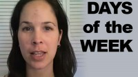 How to Pronounce the Days of the Week