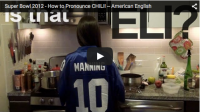 Super Bowl 2012 – How to Pronounce CHILI!
