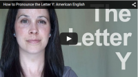 How to Pronounce the Letter Y