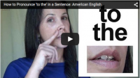 How to Pronounce 'to the' in a Sentence