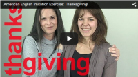 Imitation Exercise: Thanksgiving!