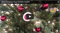 Merry Christmas from Rachel's English!