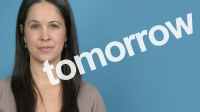 How to Pronounce TOMORROW