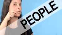 How to Pronounce PEOPLE