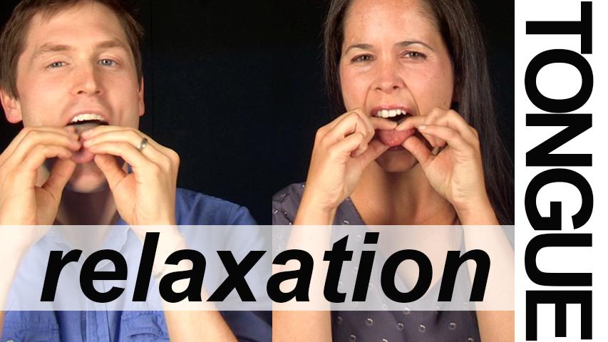 TONGUE RELAXATION EXERCISES - Vocal Exercises - Rachel's English