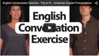 English Conversation Exercise – Trip to FL