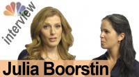 JULIA BOORSTIN — Interview a Broadcaster!