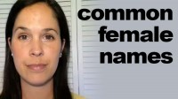 How to Pronounce common Female Names
