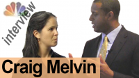 CRAIG MELVIN — Interview a Broadcaster!