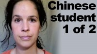 Chinese Student 1: 1/2 Accent Evaluation