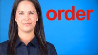 How to Pronounce ORDER