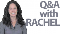 Questions and Answers with Rachel! — Culture