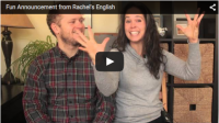 Fun Announcement from Rachel's English