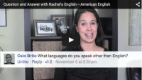 Question and Answer with Rachel's English