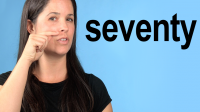 How to Pronounce SEVENTY