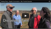 Making Plans – English Conversation on the Prairie