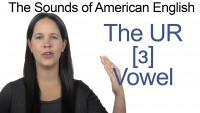 English: How to Pronounce [ɜ] UR Vowel