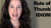 How to Pronounce the Idiom: 'Rule of Thumb'