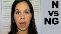 How to Pronounce N [n] vs. NG [ŋ]