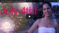 4th of July Fireworks! How to Pronounce Fireworks