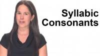 Syllabic Consonants
