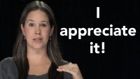 "How to Pronounce ""I appreciate it."""