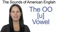 English: How to Pronounce the OO [u] Vowel