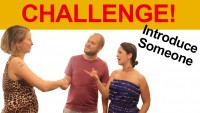 Challenge!  Introduce Someone