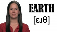 How to Pronounce EARTH