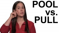 How to Pronounce POOL vs. PULL