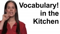 English Vocabulary in the Kitchen