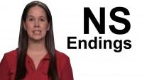 NS Endings