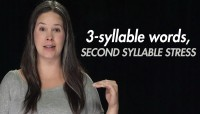 Stress:  3-syllable Words