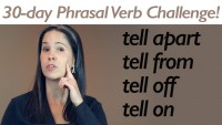 Phrasal Verb TELL
