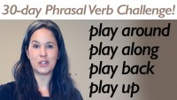 Phrasal Verb PLAY