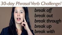 Phrasal Verb BREAK 2