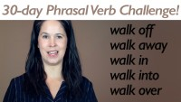Phrasal Verb WALK