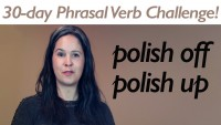 Phrasal Verb POLISH