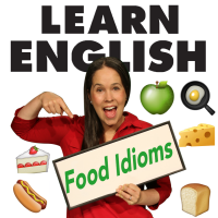 008:  Food Idioms!  Small Peanuts, White on Rice and so much more!