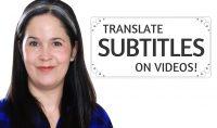 Work on Your English – Create YouTube Subtitle Translation!