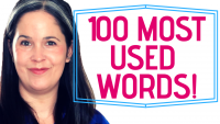 The Most Common 100 Words: #51 through #60!