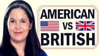 American English vs. British English!