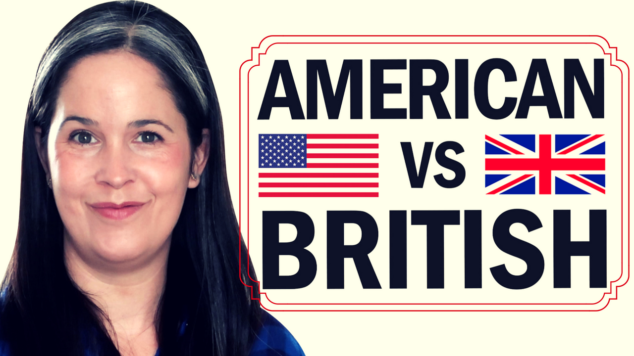 American English vs  British English | Rachel's English