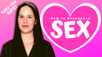 How to Pronounce Sex + Six Minimal Pairs