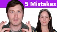 5 Common Mistakes in ENGLISH SPEAKING and How to FIX Them