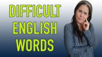 The MOST DIFFICULT ENGLISH WORDS made EASY!