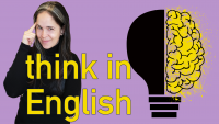 Powerful Flashcard Lesson for THINKING in ENGLISH