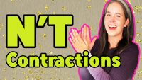 FAST ENGLISH! – The #1 Most Important Contraction | Speak Fast English with the n't Contraction